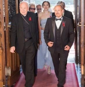 Kardinal Schönborn bei Homo Veranstaltung